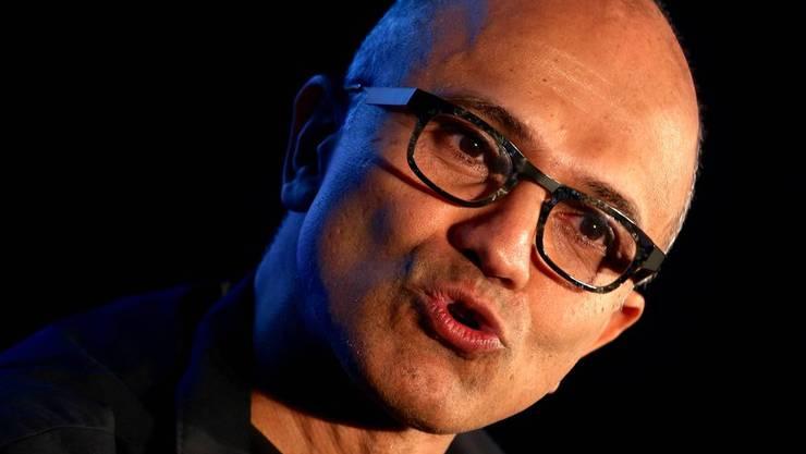 Satya Nadella kam 1992 zu Microsoft. Seit 2014 ist er der Chef von über 100'000 Mitarbeiter