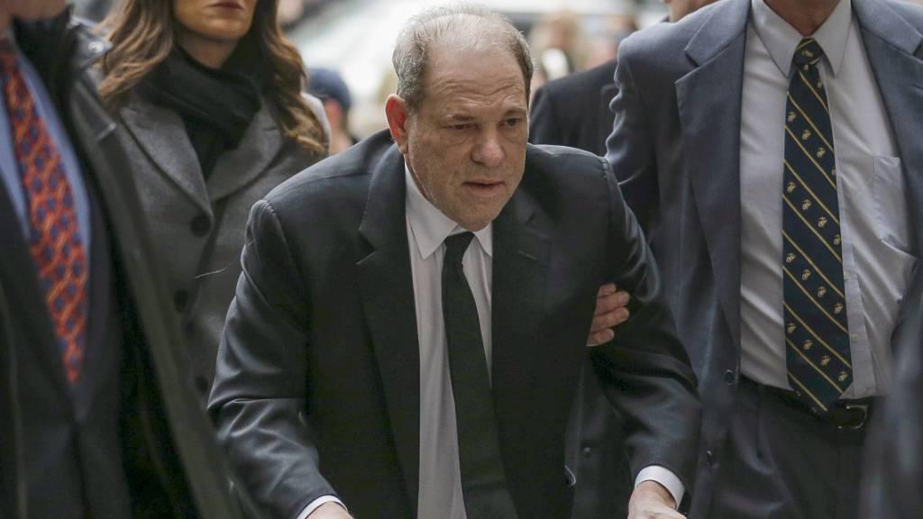 Missbrauchsprozess gegen Weinstein hat begonnen
