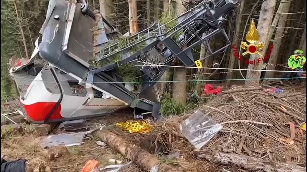 Seilbahnunglück in Italien: 14 Tote wegen manipuliertem Sicherheitssystem?