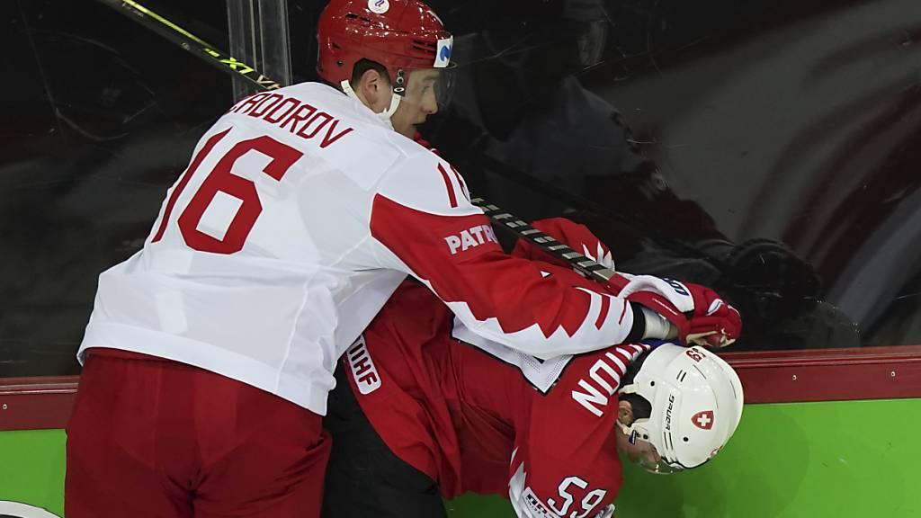 Schweizer Niederlage gegen Russland