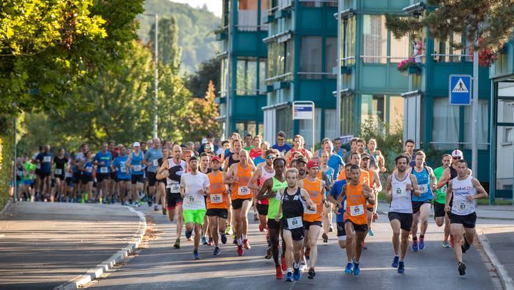 327 Läuferinnen und Läufer nahmen am 38. Belchen-Berglauf teil.