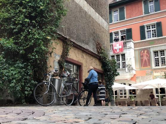 Die Hausfassade trug jahrzehntelang eine Efeu-Wand. Warum ist sie abgefallen?