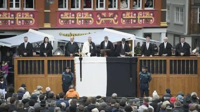 Landsgemeinde in Appenzell Innerrhoden: So verlief das Abstimmen per Hand