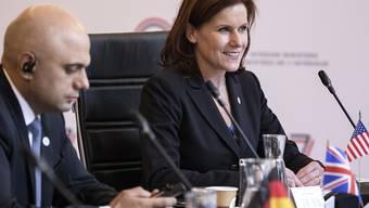 Auch sie nimmt den Hut: Die US-Vize-Ministerin für Innere Sicherheit, Claire Grady. (Archivbild)