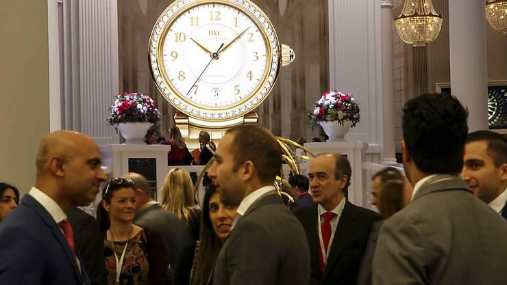 Schweizer Uhren sind im Ausland wieder begehrt: Erstmals legten im Mai die Uhrenexporte wieder deutlich zu. (Symbolbild)