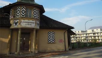 Schützenhaus in der Aarenau. kSC/Archiv