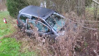 Das Auto wurde erst am Morgen entdeckt.