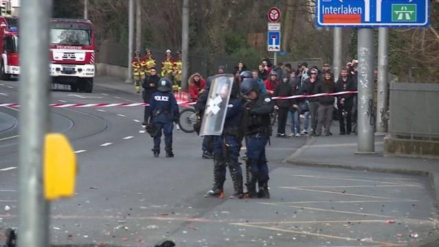 Hausräumung eskaliert in Bern