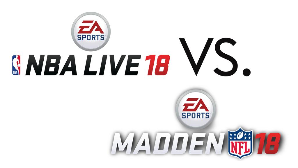 NBA Live 18 und Madden NFL 18 - welches Game ist lässiger?