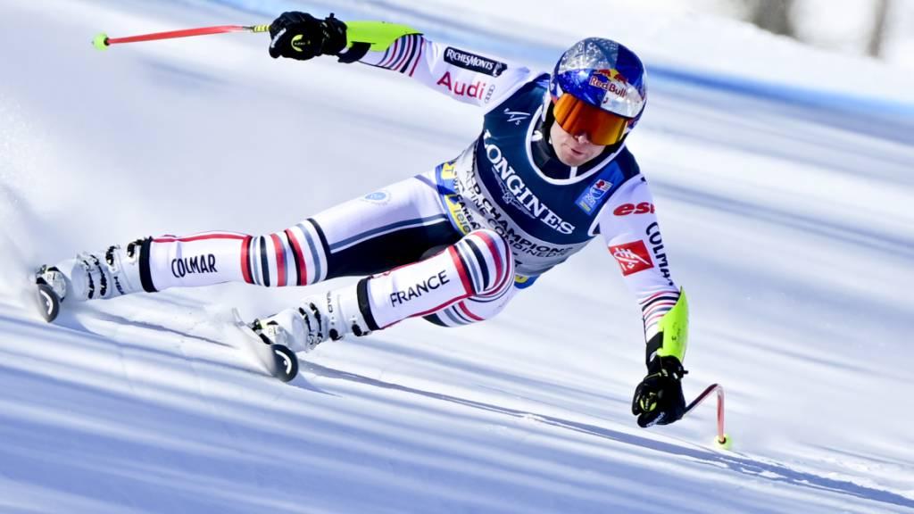Alexis Pinturault peilt Gold im Riesenslalom mit einer Siegesserie und zwei WM-Medaillen im Gepäck an