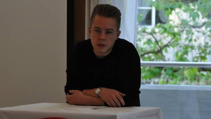 Der neue AGB-Präsident Florian Vock hat grosse Ziele.