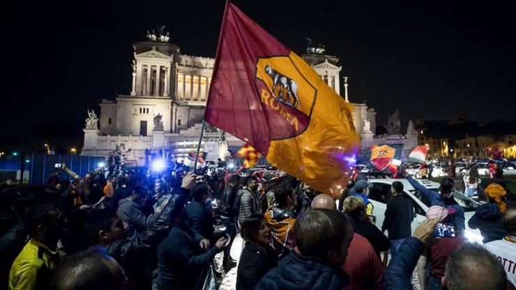 In Rom wurde bis in die frühen Morgenstunden gefeiert