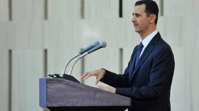 Assad zeigt sich in seiner Ansprache kompromisslos