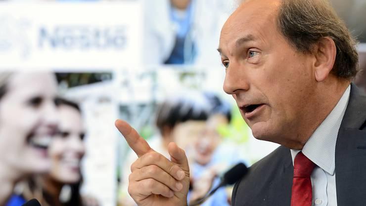 Nestlé-Ceo Paul Bulcke bestreitet die Mobbing-Vorwürfe. (Archiv)