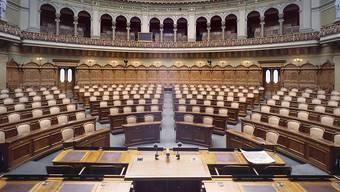 Wer schnappt sich die heiss begehrten Sitze im Nationalrat? (Archivbild)