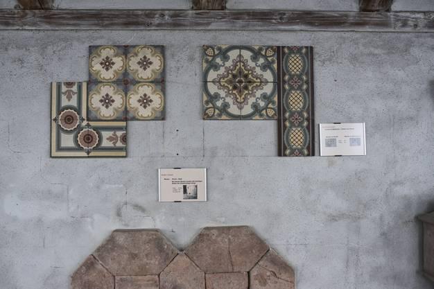 Im «Lapidarium» können Überbleibsel der Restaurierungsarbeiten besichtigt werden.