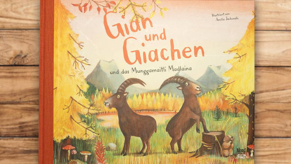 Gian und Giachen retten «Mungg» im neuen Kinderbuch
