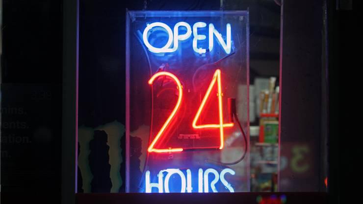 Die Zukunft? Ein 24-Stunden-Shop.