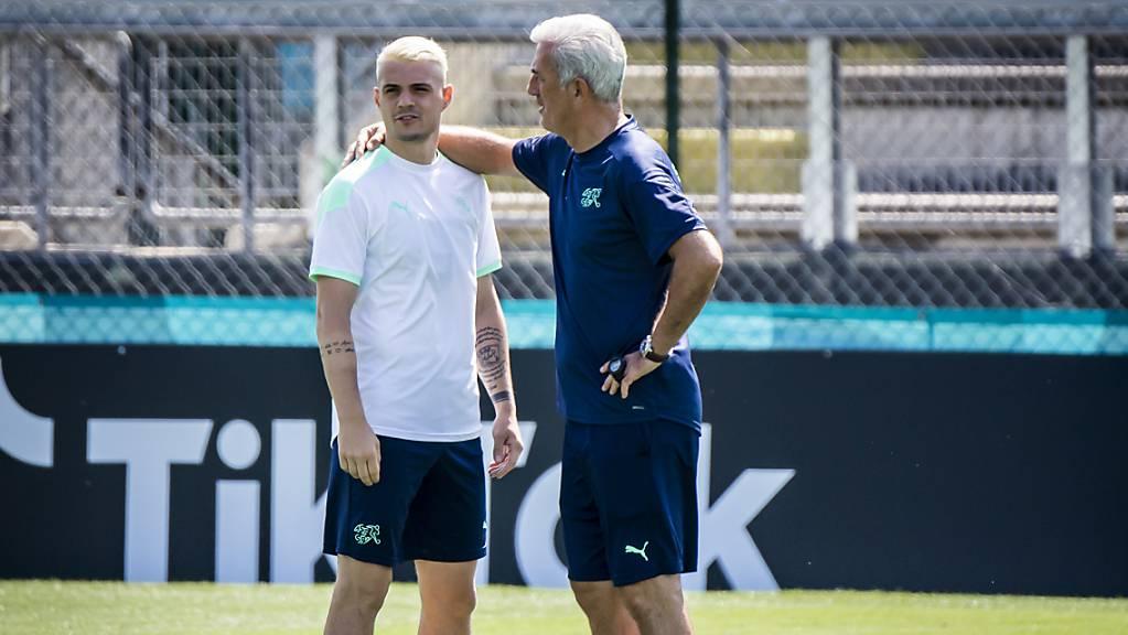 Von Captain Granit Xhaka wird gegen Italien ein besseres Spiel erwartet als gegen Wales