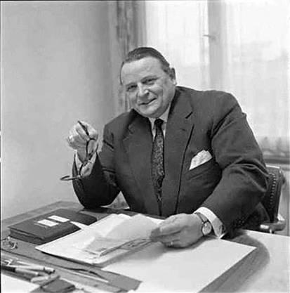Erwin Triebold (FDP, Möhlin) war Landwirt und sass von 1947 bis 1955 im Nationalrat.zvg