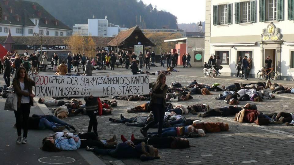 Schüler wehren sich gegen Kanti-Schliessung