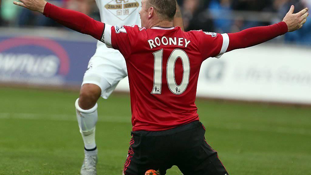 Rooney mit einem Tor in San Marino