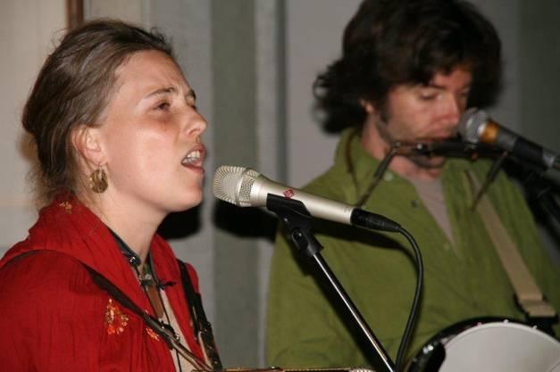 Sonja Wunderlin und Gabriel Kramer hatten stündlich Auftritte.