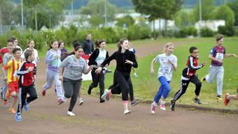 Schulsporttag der Grenchner Schulen Kastels und Eichholz