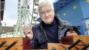 Mässglöggner Franz Baur: «Ich drücke nicht einfach einen Knopf.»