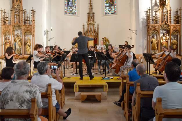 Streicherensemble der Musikschule Rheinfelden Kaiseraugst