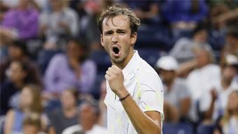Kann Daniil Medvedev im Halbfinal seine Emotionen im Griff haben und wieder auf die Unterstützung der Fans zählen?