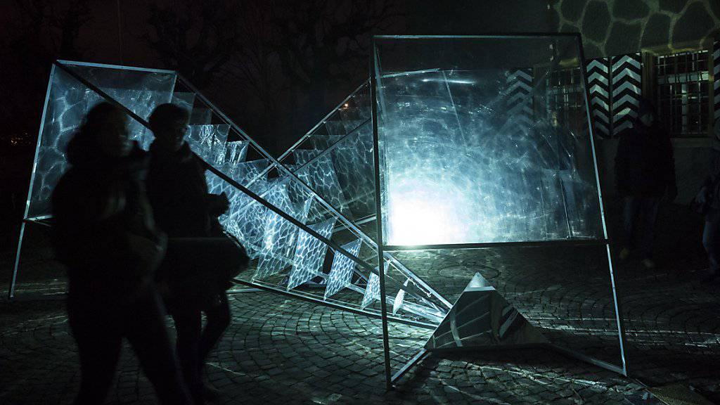 Licht-Festival im historischen Murten geht in die vierte Runde