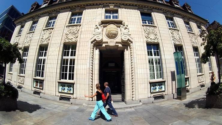 Sitz der Neuen Aargauer Bank in Aarau. (Archiv)