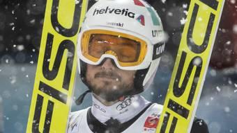 Kein Grund, sich zu ärgern: Killian Peier sprang in Lillehammer erneut in die Top Ten