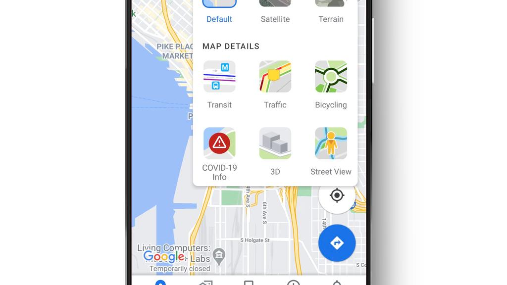 Neu findest du die Corona-Fallzahlen auch auf Google Maps