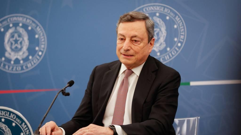 Ministerpräsident Draghi empfängt Europameister am Montag