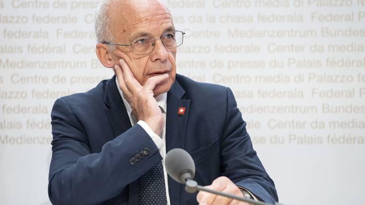 Finanzminister Ueli Maurer sieht in nachhaltigen Anlageprodukten eine grosse Chance für den Schweizer Finanzplatz.