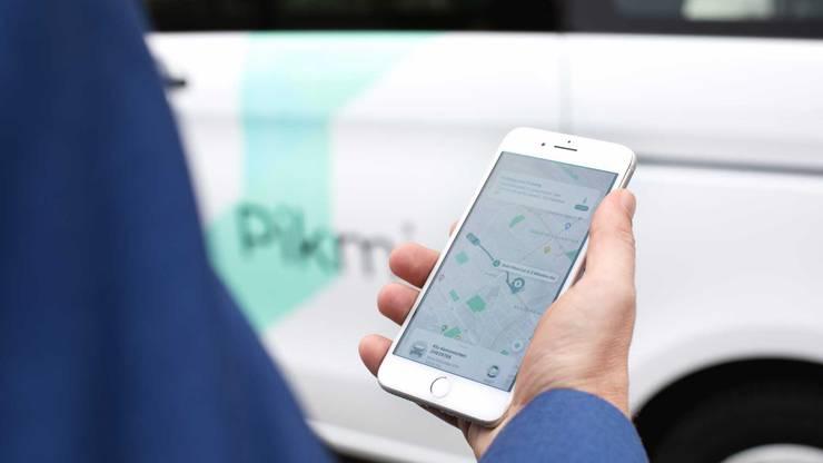 Die Pikmi-App zeigt an, wo der Rufbus hält und wie lange man auf ihn warten muss.