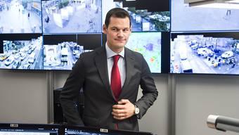 Hält Cyberangriffe für die grösste Gefahr in der Schweiz: Pierre Maudet, Präsident der kantonalen Polizeidirektoren. (Archivbild)