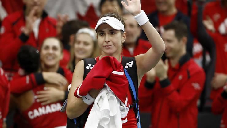Belinda Bencic und die anderen Schweizerinnen müssen auf die Premiere beim Fed Cup noch warten