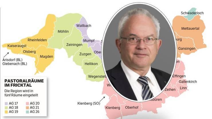 Christoph Sterkman: Der Bischofsvikar ist für die Pastoralräume in der Bistumsregion St. Urs zuständig.