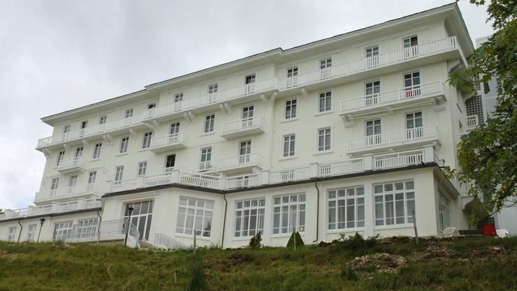 Wird am 3. Dezember zwangsverwertet: Grand Hôtel du Pont, Ex-Naturheilkunde-Klinik.