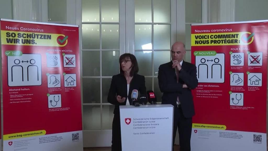 Coronafälle in der Schweiz nehmen rasant zu