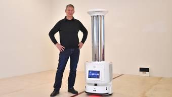 Neues Unternehmen aus Trimbach: Stefan Meier verkauft und vermietet Roboter