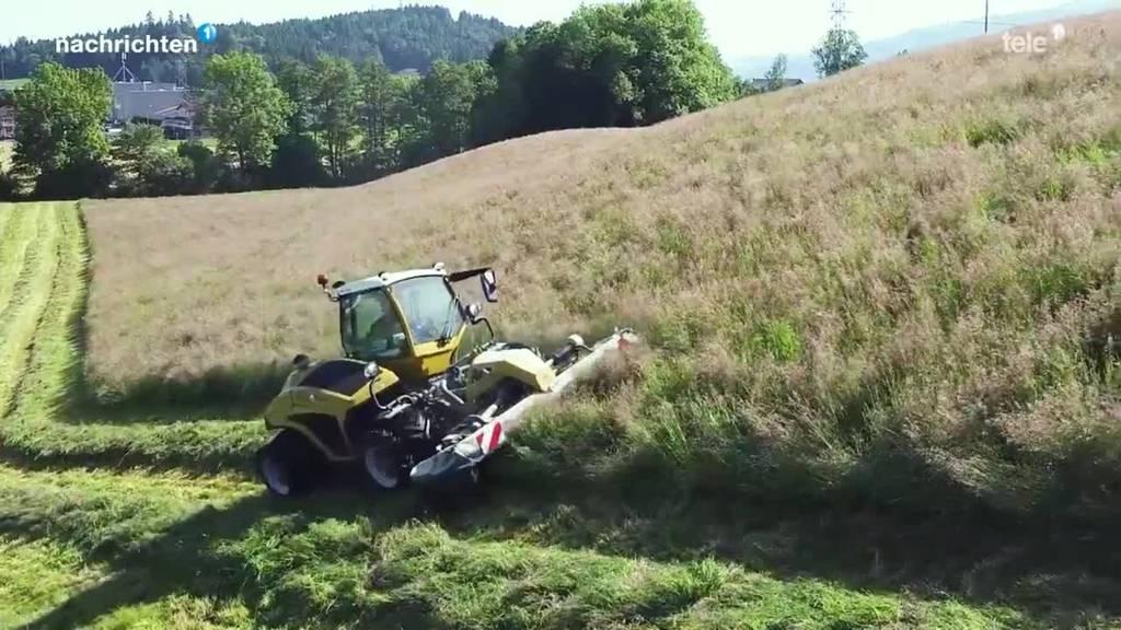 Neuer Traktor soll Bauern entlasten