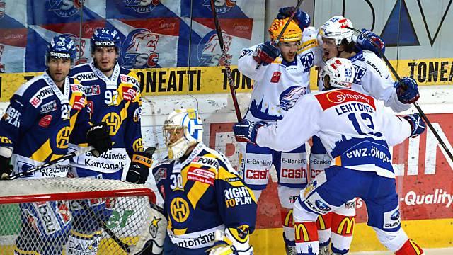 Erneute Heimniederlage für den HC Davos gegen die ZSC Lions.