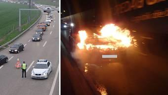 Brand im Bözbergtunnel verursacht Mega-Stau