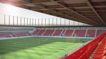 Bei einem Weiterzug ans Bundesgericht kann sich der Baubeginn des neuen Fusballstadions noch Jahre hinauszögern.