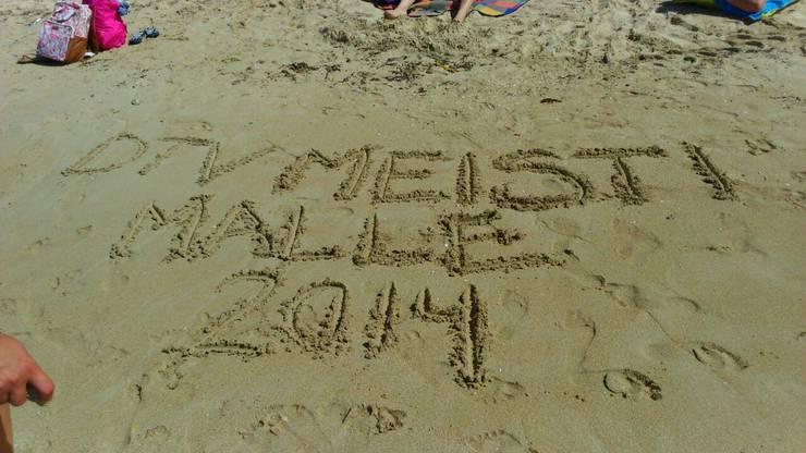 DTV Meisti: geschrieben im Sand