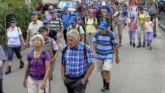 Leserwandern 2017: 2. Etappe (von Büreb nach Liestal)